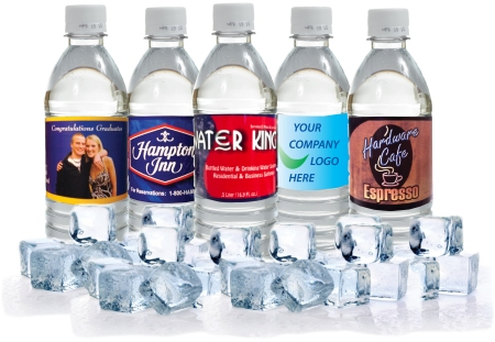 El Paso Texas Custom Label Bottled Water